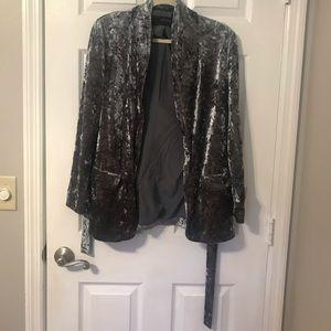Zara Basic Velvet jacket